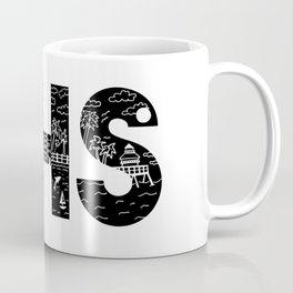 Charleson Landscape Doodle Coffee Mug