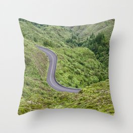 Courbe Throw Pillow