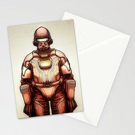 HazmatSuit Stationery Cards