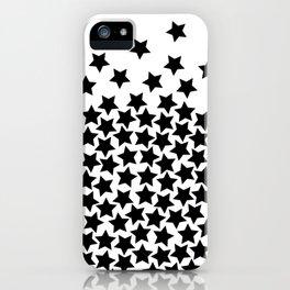 Lots of Black Stars iPhone Case