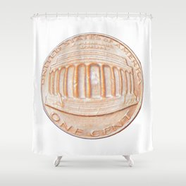 inflation Shower Curtain