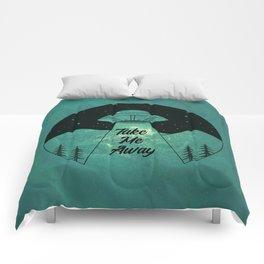 """Take Me Away"" UFO (Colour) Comforters"