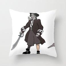 Pirate Prosthetics Throw Pillow