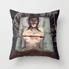 Studied and Observed  Throw Pillow