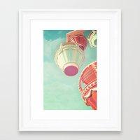 carnival Framed Art Prints featuring Carnival  by Scarlett Ella