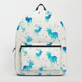 TURQUOISE DEER PATTERN Backpack