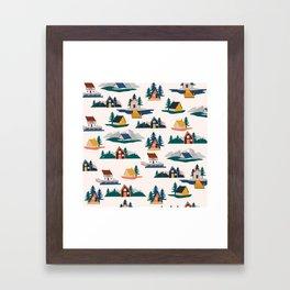 Let's stay here Framed Art Print