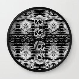 Freak Skull Pattern Wall Clock