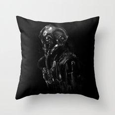 Pilot 01 Throw Pillow