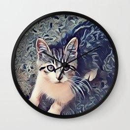 My Favorite Stray Cat Wall Clock