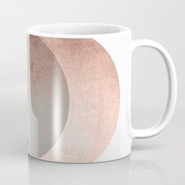 Circles Metallic Abstract Art. Coffee Mug