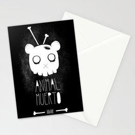 Animal Muerto Stationery Cards