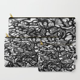 Structured Nothingness Carry-All Pouch
