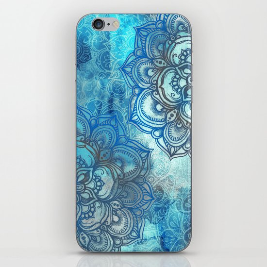 Lost in Blue - a daydream made visible iPhone & iPod Skin