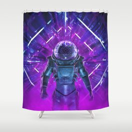 Entering The Unknown Shower Curtain
