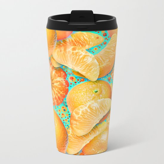 Clementine Metal Travel Mug