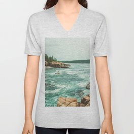 Summer Vacation Unisex V-Neck
