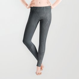 Slate Gray Stucco - Faux Finishes - Rustic Glam Leggings