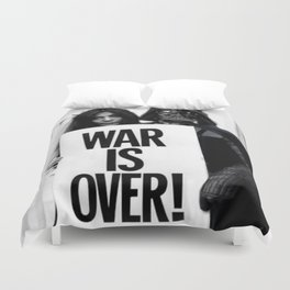 Darth Vader with Yoko Ono Duvet Cover