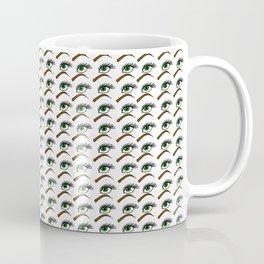 Green Eyes | Veronica Nagorny Coffee Mug