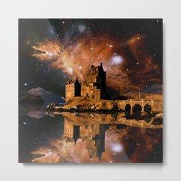 Cosmic Eilean Donan Metal Print