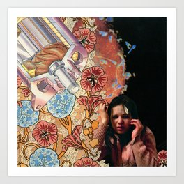 Series A: Busted Hooker Art Print