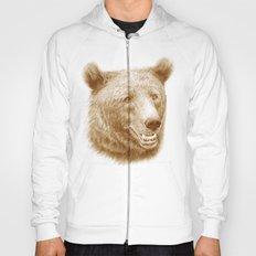 Brown bear is happy Hoody