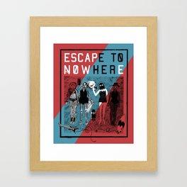 Escape To Nowhere Framed Art Print