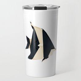 Origami Moorish Idol Travel Mug