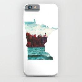 Minnesota-Split Rock Lighthouse at Lake Superior iPhone Case