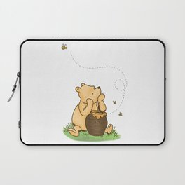 Classic Pooh with Honey - No background Laptop Sleeve