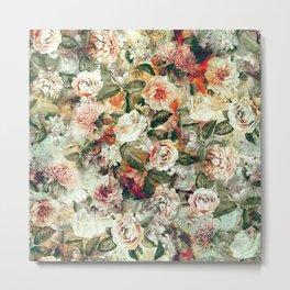 Floral Pattern RPE121 Metal Print