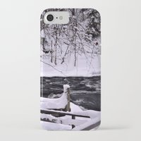 finland iPhone & iPod Cases featuring Winter in Finland by Guna Andersone & Mario Raats - G&M Studi