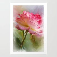 shabby chic Art Prints featuring Shabby Chic by Trish6150