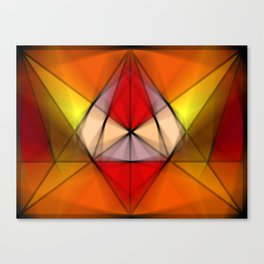 Stained  Triangulate  Canvas Print