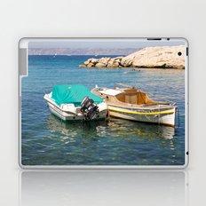 Floating Marseille Laptop & iPad Skin