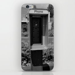 Where have all the pay phones gone? #4 iPhone Skin