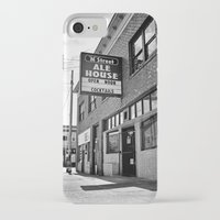 ale giorgini iPhone & iPod Cases featuring M Street Ale House by Vorona Photography