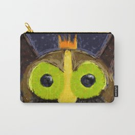 The Kingly Owl - Digital Painting Carry-All Pouch