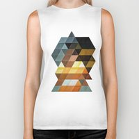 dumbo Biker Tanks featuring gyld^pyrymyd by Spires