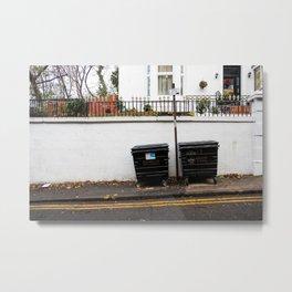 Surface Tension: 310 Renfrew Street Metal Print