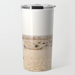 Falconry in the Middle East Travel Mug