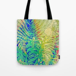 Fern and Fireweed 01 Tote Bag