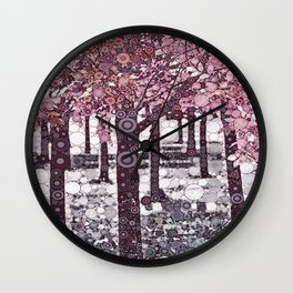 :: Girl Trees :: Wall Clock