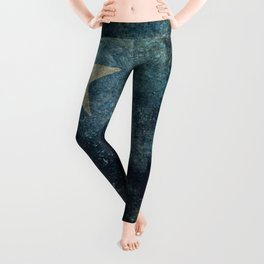 Somalian national flag - Vintage version Leggings