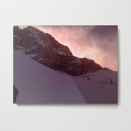 Alta Slopes Metal Print