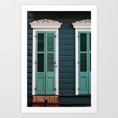 Creole Cottage Art Print