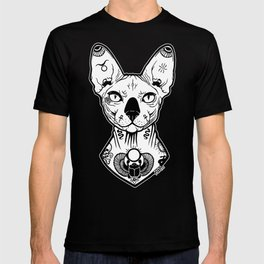 Sphynx Tattooed T-shirt