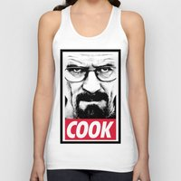 cook Tank Tops featuring Cook by Shine Out