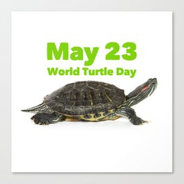 World Turtle Day - May 23 Canvas Print